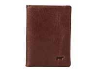 Will Leather Goods Cary Front Pocket Brown Wallet