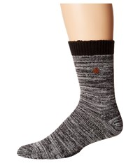 Birkenstock Roma Socks Anthracite Crew Cut Socks Shoes Pewter