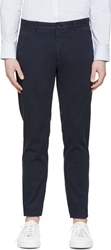 Tiger Of Sweden Navy Chino Roaman Trousers