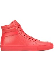 Koio Collective 'Primo' Hi Top Sneakers Red