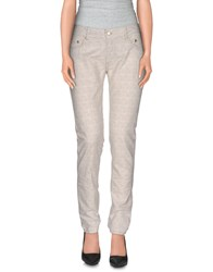 Paolo Pecora Donna Trousers Casual Trousers Women White