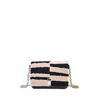 Proenza Schouler Small Courier Blurred Sheep Stripe New Lamm