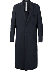 Damir Doma Single Breasted Coat Blue