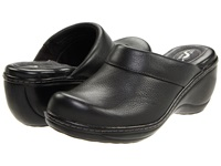 Softwalk Murietta Black Leather Women's Clog Shoes