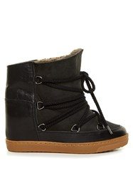 Isabel Marant Toile Nowles Concealed Wedge Lined Ski Boots