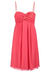 Esprit Collection Cocktail Dress Party Dress Coral