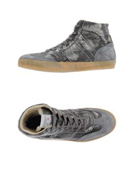 Serafini Sport Footwear High Tops And Trainers Men Grey