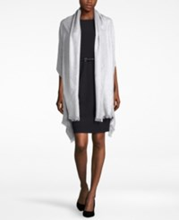 Inc International Concepts Geo Jacquard Wrap Only At Macy's Silver