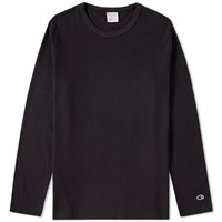 Champion Reverse Weave Long Sleeve Classic Tee Black