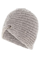 Ichi Tilly Hat Grey Melange Mottled Grey