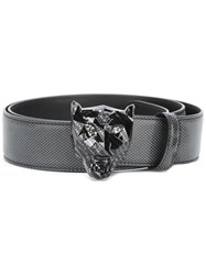 Philipp Plein 'Carbon' Belt Black