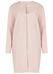 Paule Ka Blush Crepe Coat Light Pink