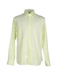 Bagutta Shirts Shirts Men Light Green