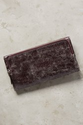 Anthropologie Liola Leather Wallet Lilac