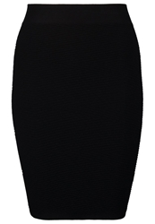 Just Female Grease Pencil Skirt Black