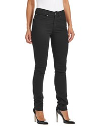 Armani Jeans Slim Fit High Waisted Skinny Black