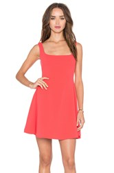Nookie Sweet Sensation Skater Dress Coral