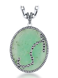 Jade Jagger Constellation Pendant Scorpio Green