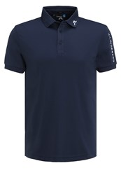 J. Lindeberg J.Lindeberg Tour Sports Shirt Navy Purple Dark Blue