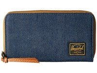 Herschel Thomas With Zipper Dark Denim Wallet Handbags Navy