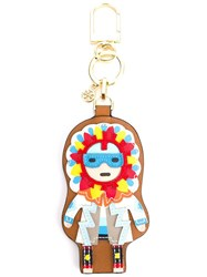 Tory Burch Kachina Doll Keyring Multicolour