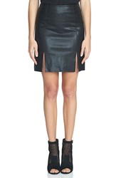 1.State Women's A Line Faux Leather Miniskirt