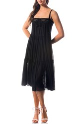 Robin Piccone Women's 'Sophia' Cover Up Dress Black