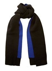 Proenza Schouler Doubled Faced Cashmere Scarf Black