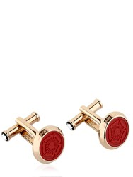 Montblanc Shakespeare Steel Cufflinks