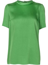 Lanvin Mock Neck Blouse