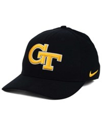 Nike Georgia Tech Yellow Jackets Classic Swoosh Cap Black