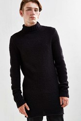 Cheap Monday Longline Turtleneck Sweater Black
