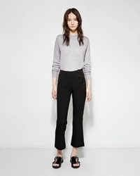 Proenza Schouler Tropical Wool Trouser Black
