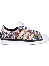 Mary Katrantzou 'Superstar 80' Sneakers White