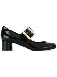 Lanvin Buckle Detail Pumps Black
