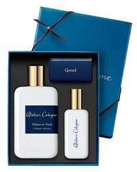 Atelier Cologne Tobacco Nuit Cologne Absolue 200 Ml With Personalized Travel Spray 30 Ml Bordeaux
