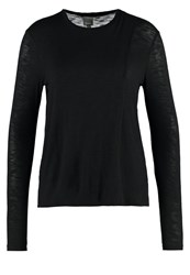 Bench Enunciation Long Sleeved Top Black