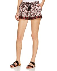Soft Joie Magee Printed Shorts Porcelain Fired Brick