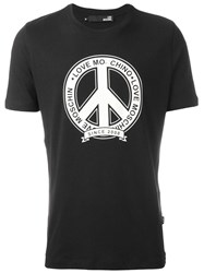 Love Moschino 'Peace Since' T Shirt Black