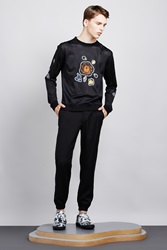 Opening Ceremony Weir Suiting Regular Fit Track Pants Black