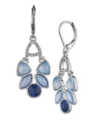 Lonna And Lilly Chandelier Drop Earrings Silver