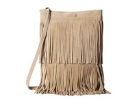 Toms Suede Crossbody Natural Cross Body Handbags Beige