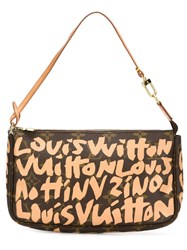 Louis Vuitton Vintage Louis Vuitton X Stephen Sprouse 'Graffiti Pochette' Shoulder Bag