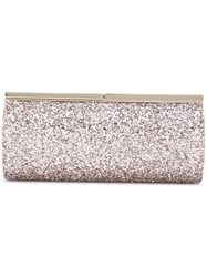 Jimmy Choo Trinket Clutch Pink Purple