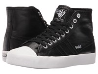 Gola Coaster High Metallic Black Black Women's Shoes