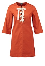 Sister Jane Savannah Summer Dress Rust Ochre