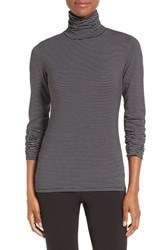 Nordstrom Women's Collection Ultimate Modal Stripe Turtleneck