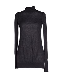 Kaos Knitwear Turtlenecks Women Steel Grey
