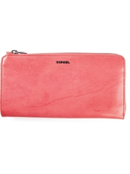 Diesel 'Ruby P' Wallet Red