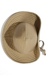 Men's Infielder Design Channel Stitch Cotton Fedora